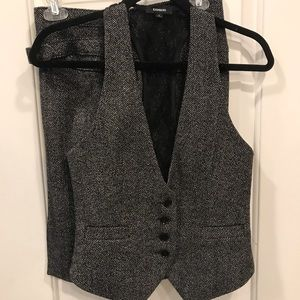 Express Pencil skirt and vest
